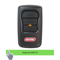Genie garage door opener remote comparison with the Genie Master Remote model GM3T-R