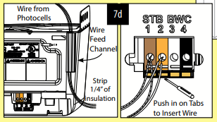 Safe-T-Beam wiring