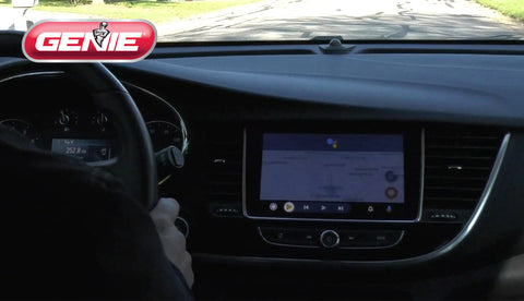 Genie aladdin connect works with google assistant and android auto