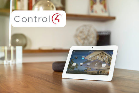 Genie aladdin connect works with Control4 smart home company