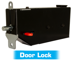Door lock for the Genie wall mount garage door opener