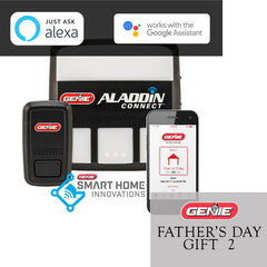 genie aladdin connect smart garage door controller fathers day gift idea