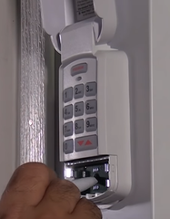Genie Wireless Keypad mounting