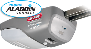 model 4164 smart garage door opener with integrated aladdin connect