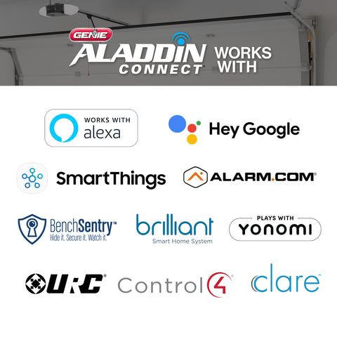 Genie Aladdin Connect smart partners