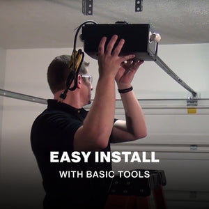 Genie Chain Drive 550 garage door opener is easy to install with basic tools
