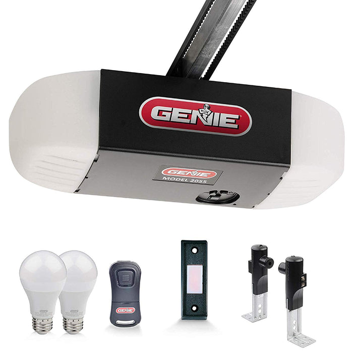 Stealth 500 Essentials, LED Bulbs Included, Ultra-Quiet Belt Drive Garage Door Opener