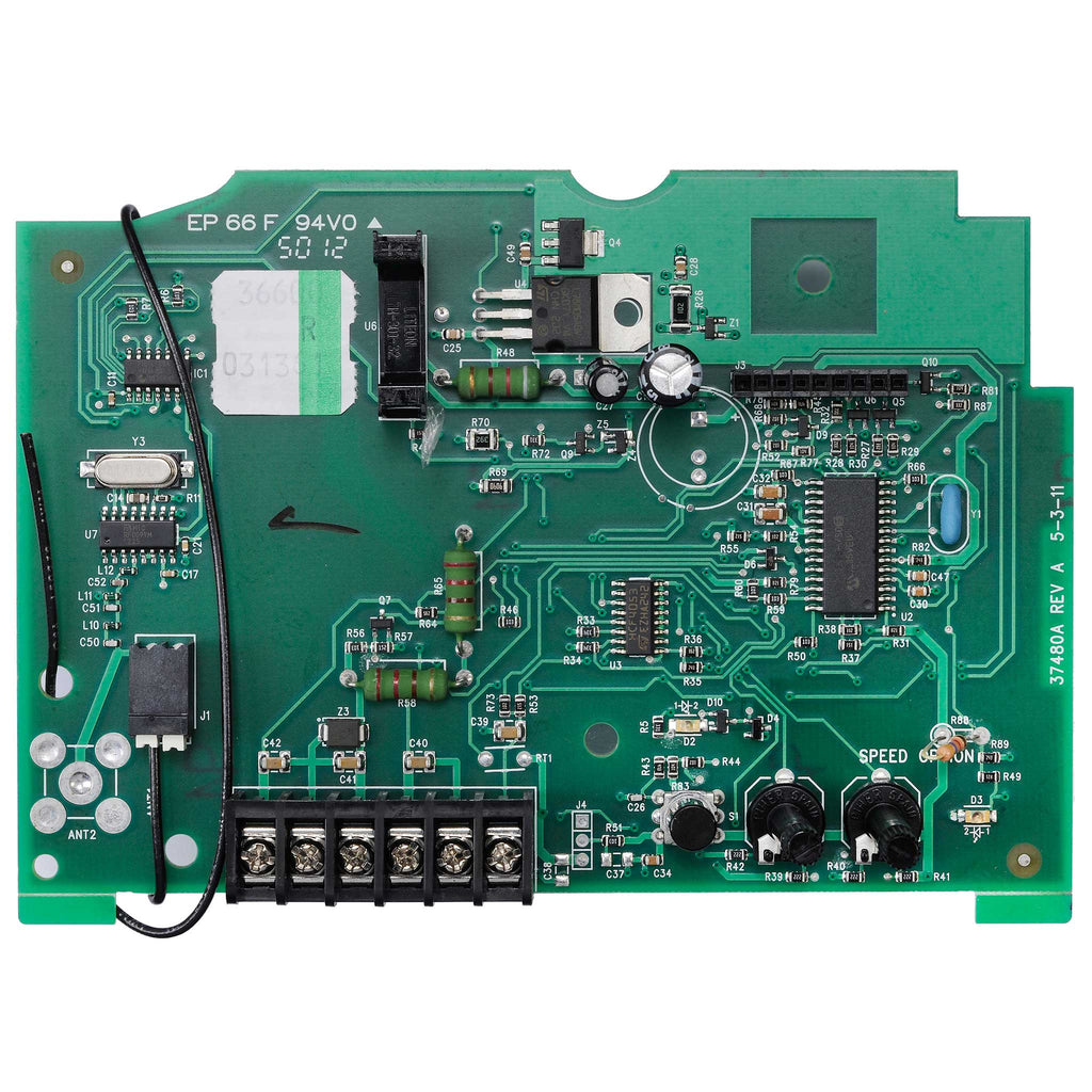 Control Board 36600R.S Compatible with Genie garage door opener models 4060L, H8000, ISD990, ISD995, ISD1000, 4560, PRO99, CMD9900