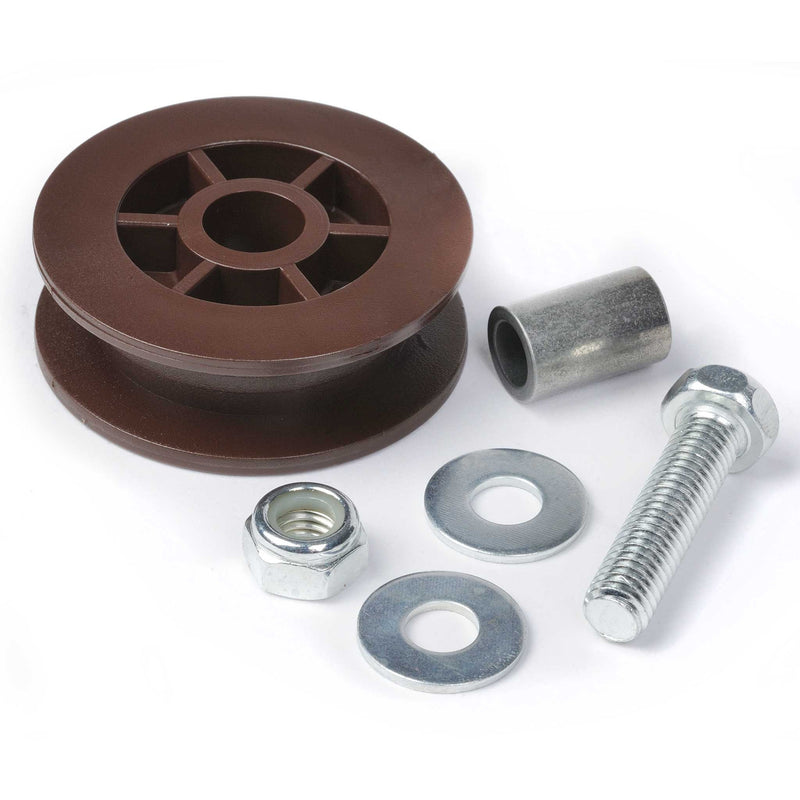Belt Pulley Assembly 36605A.S, Compatible with Genie garage door opener models 1024, 1042, 2024, 2042