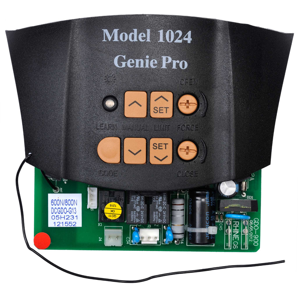 Circuit Board 37028E.S Compatible with Genie garage door opener models 1022, 1024, 1042
