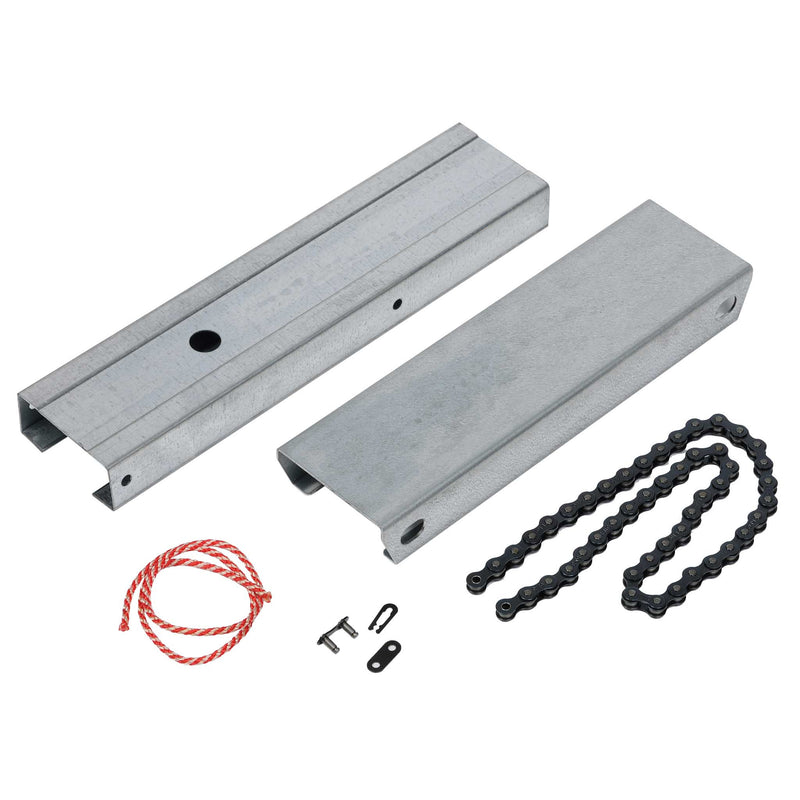 Extender Kit (to 8') for 3 Piece, Chain Drive C-Channel Rails
