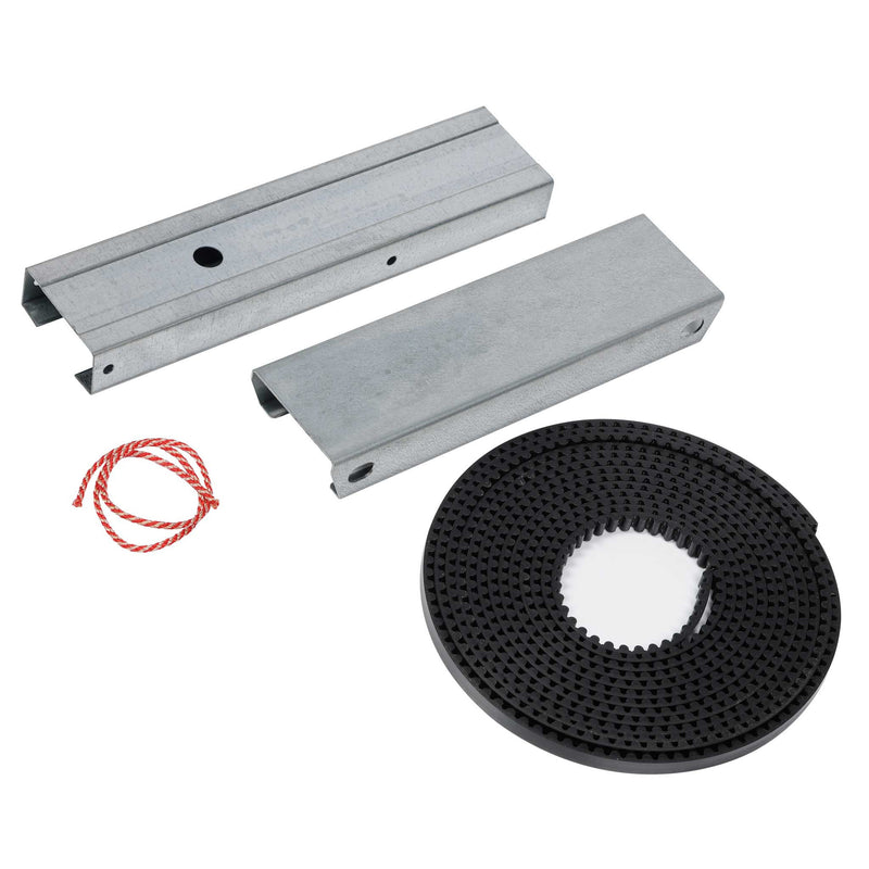 Genie Extension Kit (EKBC) to fit  8' high garage doors. Works on 3 Piece Belt Drive C-Channel Rails for models 3042 and 4042.
