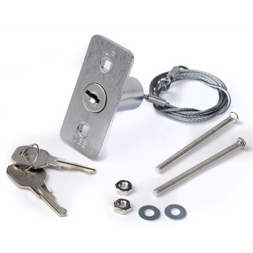 Genie GER Keyed emergency release lock kit works with most model garage door openers