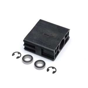 Bearing Block Assembly - 37844R.S, Compatible with Genie screw drive models: 2562, 2564, 2568, 3062, 3064, 4062, 4064