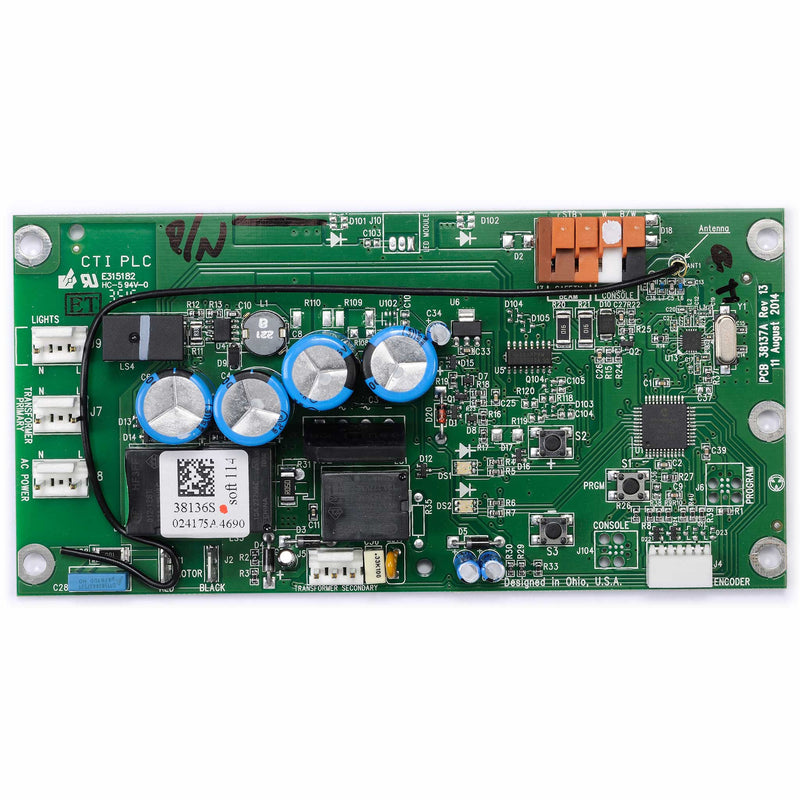 Circuit Board 38647S.S Compatible with Genie garage door opener models 1035 and 2028