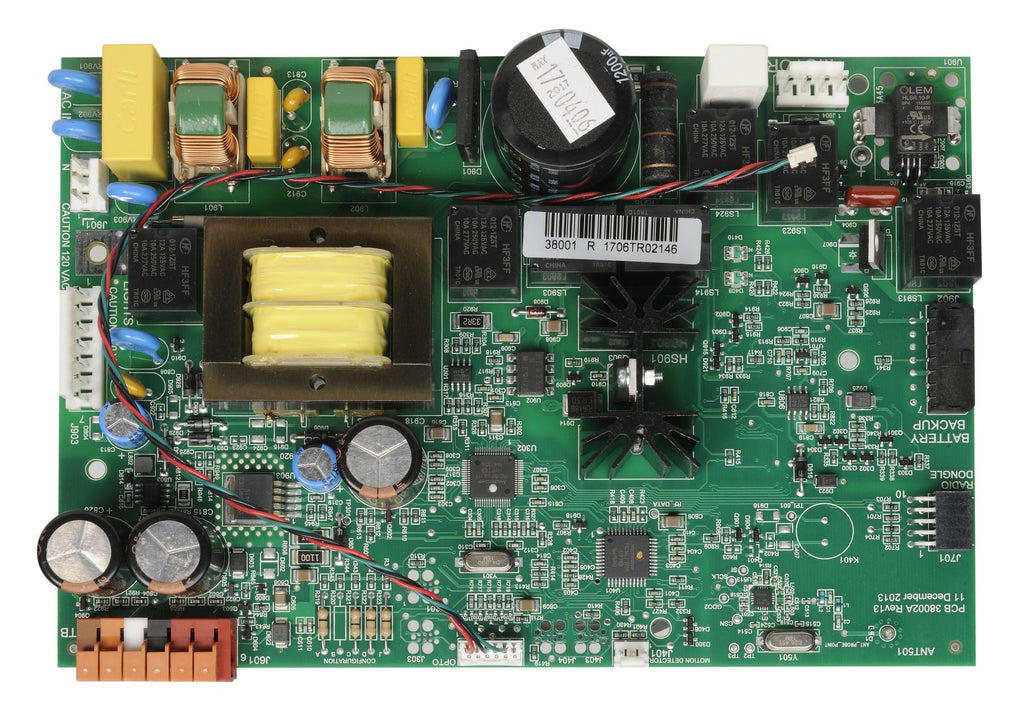 Circuit Board 38874R1.S Compatible with Genie garage door opener models 3062 and 3064