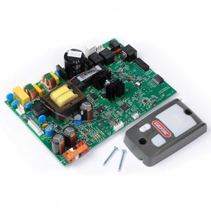 Replacement Circuit Board and Series II Wall Console Bundle 38875R1.S for Genie garage door opener