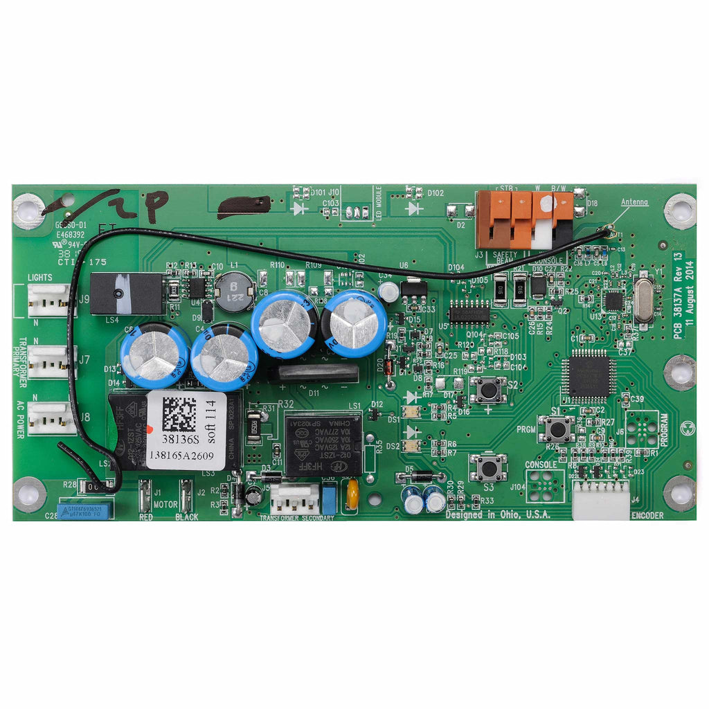 Circuit Board Assembly 39340R.S Compatible with Genie garage door opener models  2035, 2036, 2055, 3035, 3055