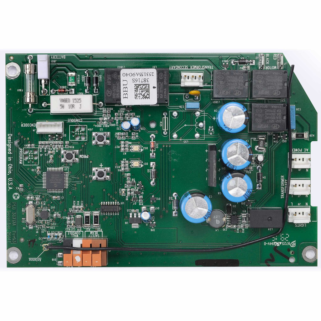 Circuit Board Assembly  39340S.S Compatible with Genie garage door opener models 3020H, 7035, 7055
