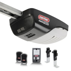 MachForce 2 HPc Premium Garage Door Opener -Screw Drive - Ultimate Strength and Speed w/ a 140-Volt DC Motor