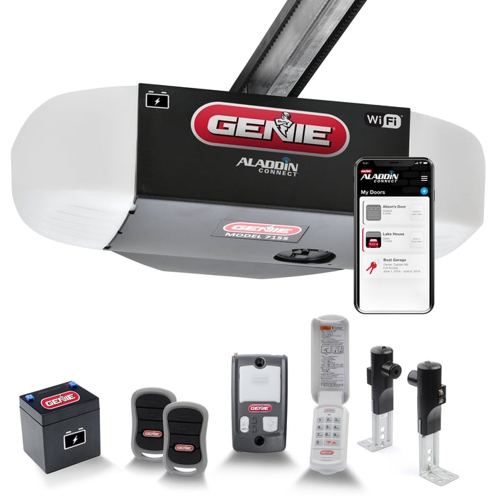 7155-TKV Belt Garage Door Opener with Battery Backup and Aladdin Connect