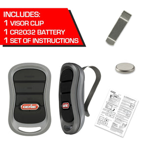 G3T-R 3-Button handheld garage door opener Remote