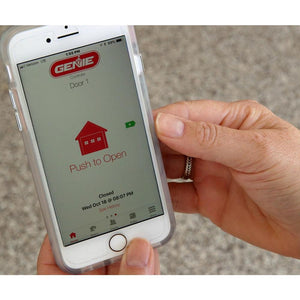 The Aladdin Connect app is easy to use and gives you control of the garage in the palm of your hand from anywhere