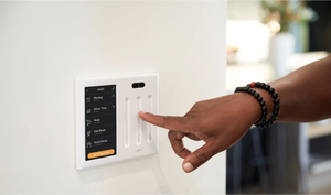 Brilliant Smart Home Control (1-Switch Panel) — Compatible with Alexa, Google Assistant, HomeKit, Ring, Sonos, and more