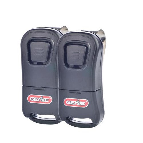 Genie 1 Button Garage Door Opener Remote 2 Pack The