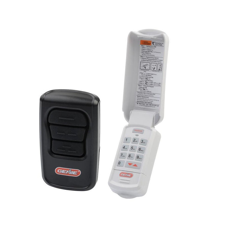 genie gk r keyless entry and gm3t r master remote pack. Black Bedroom Furniture Sets. Home Design Ideas