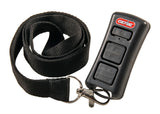 2-Button LED Flashlight Remote with Lanyard