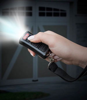 Image of Genies 2 button flashlight remote GL2T-BX for Intellicode model garage door openers