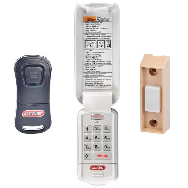 GK-R Keyless Entry and G1T-BX Remote Pack ,  Bundle - The Genie Company