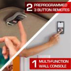 MachForce Screw Drive includes two preprogrammed remotes and a multifunction wall console