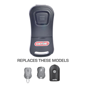 Genie new G1T-BX garage door opener remote replaces old style remotes
