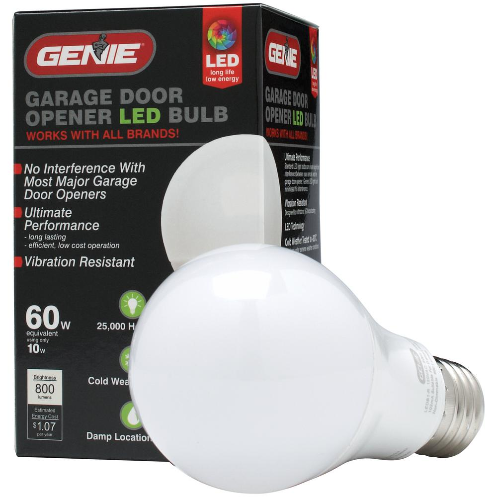 Led Garage Door Opener Light Bulb The Genie Company
