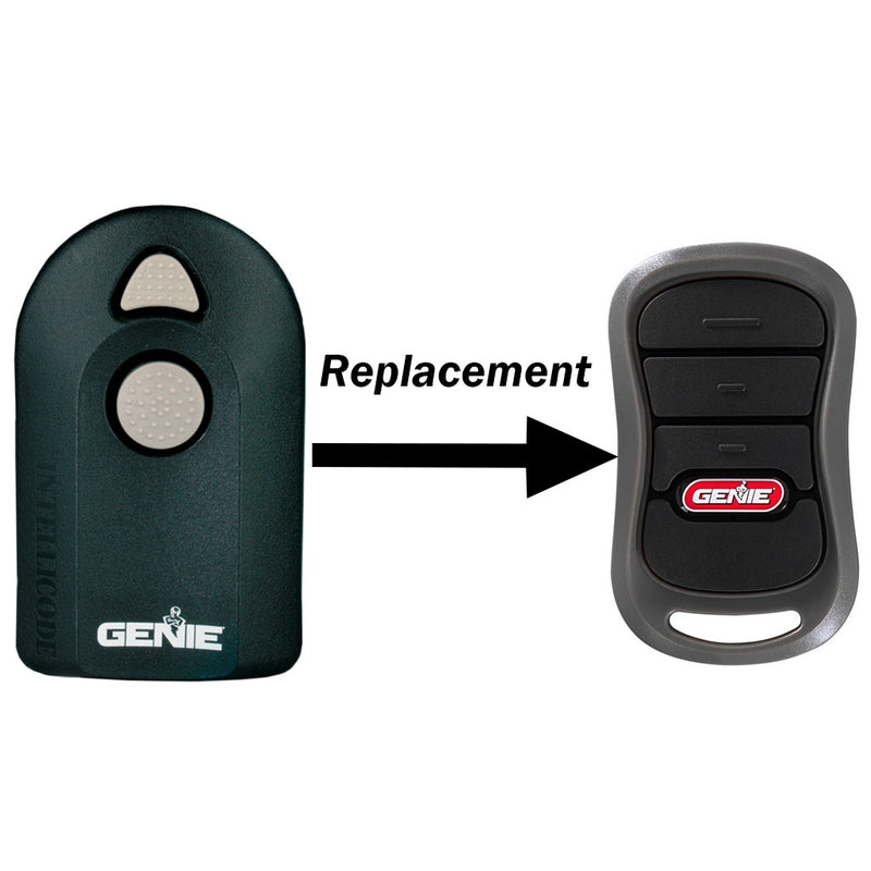 Acsctg Type 2 Replacement For 2 Button Remote The Genie