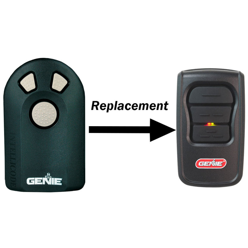 Acsctg Type 3 Replacement 3 Button Remote By Genie