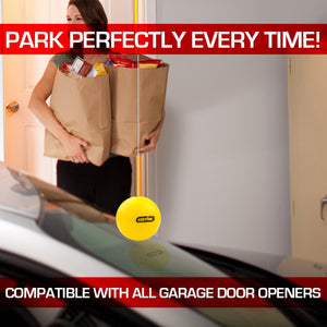 Genie perfect stop parking aid, part of The Genie Everything garage door opener accessory bundle