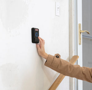Genie garage door opener wireless wall console is easy to install anywhere in your garage