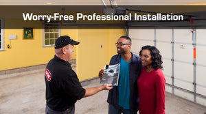 Worry Free Professional Garage Door Opener Installation