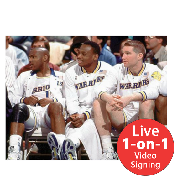 "Chris Mullin LIVE Video Signing 16""x20"" Run TMC Photo"