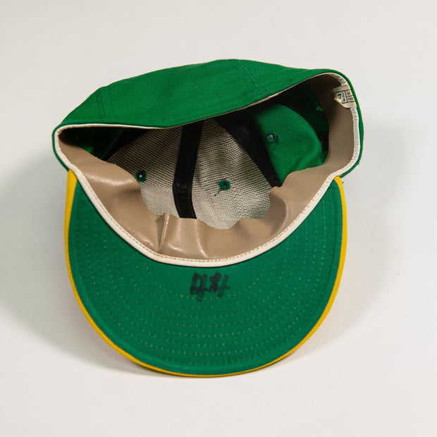 Willie McCovey Oakland A's Game Worn Hat