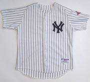 Jason Giambi New York Yankees 100th Anniversary Russell Athletic White Jersey