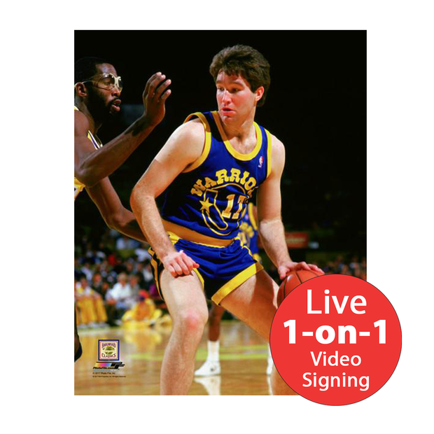 "Chris Mullin LIVE Video Signing 8""x10"" Warriors-B Photo"