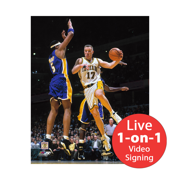 "Chris Mullin LIVE Video Signing 8""x10"" Pacers Photo"