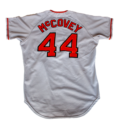 Willie McCovey - 1973 Grey Giants Game-Used Jersey