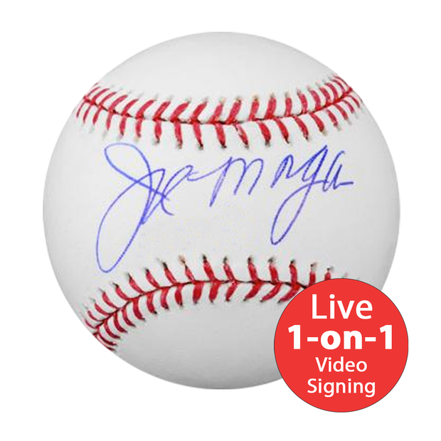 Joe Morgan LIVE Video signing Baseball