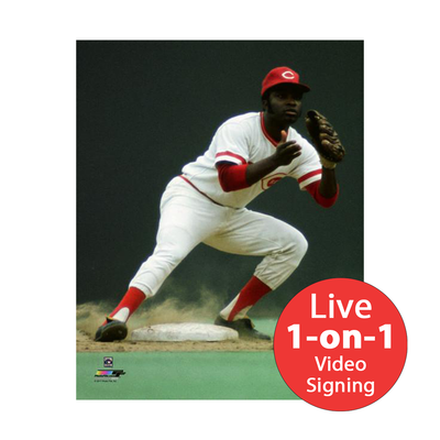 "Joe Morgan LIVE Video signing 8""x10"" Reds D Photo"