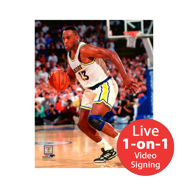 "Mitch Richmond LIVE Video signing 8""x10"" Warriors-W Photo"
